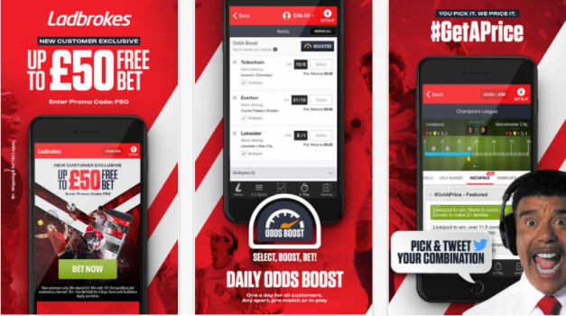 ladbrokes betting mobile app