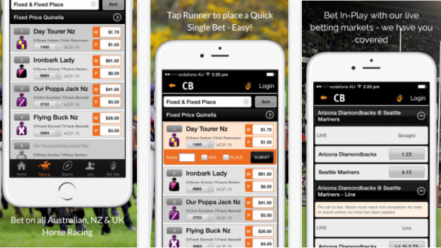 centrebet mobile bet