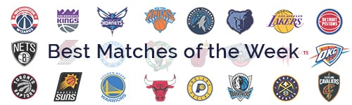 NBA Best Matches of the Week