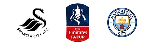 FA Cup Swansea City vs Man. City