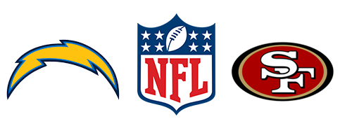 NFL Chargers vs 49ers