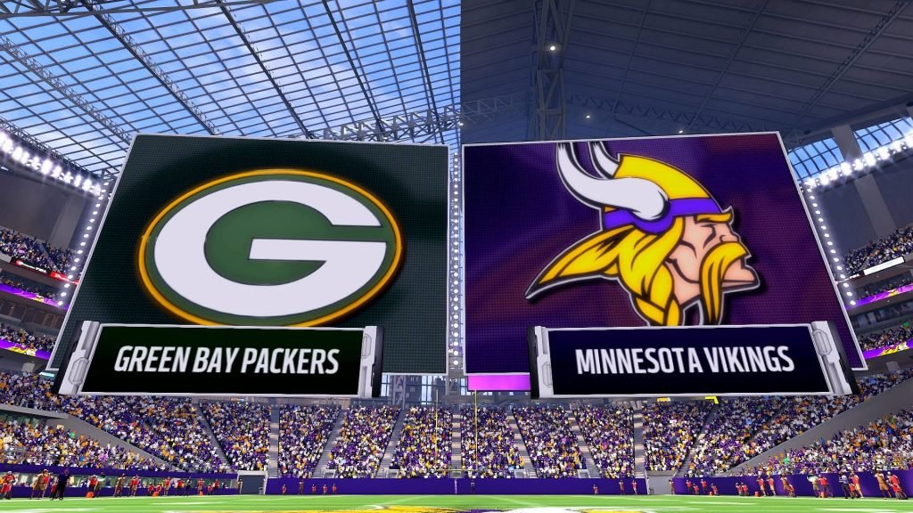 Minnesota vs Green Bay