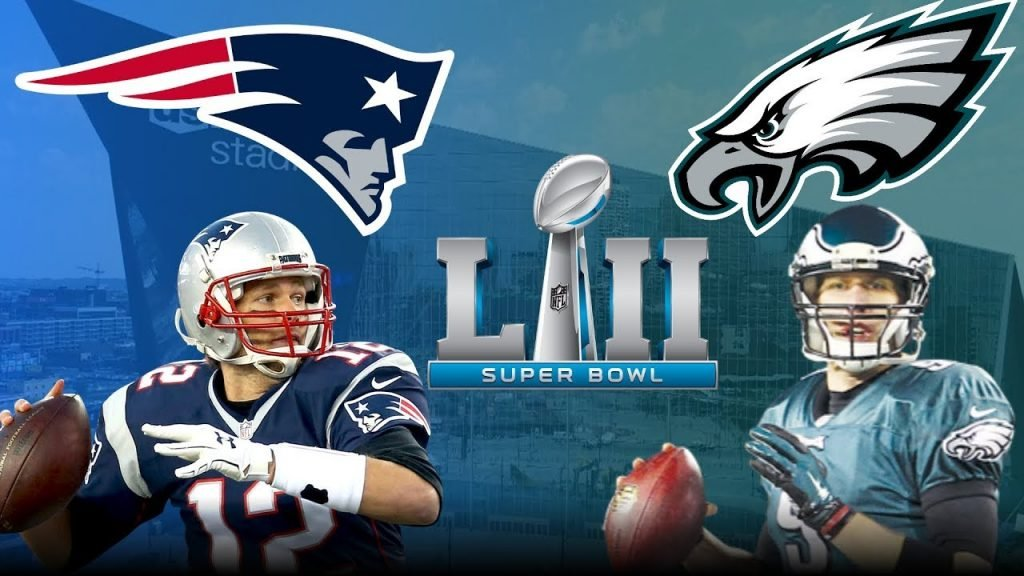 Super bowl Patriots vs. Eagles