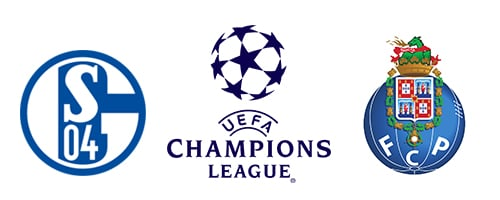 Champions League Schalke 04 vs FC Porto