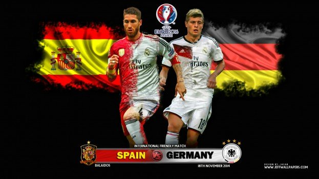 spain vs germany