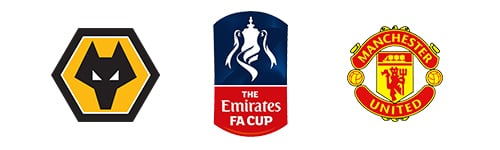 FA Cup Wolves vs Man United
