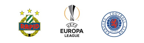 UEFA Europa League Rapid Wien vs Rangers