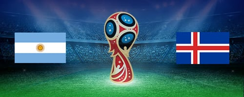 World Cup Argentina vs Iceland