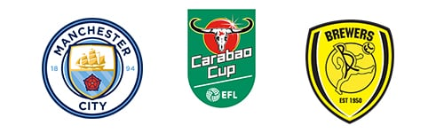 Carabao Cup Man City vs Burton Albion