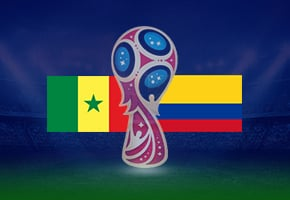 World Cup Senegal vs Colombia