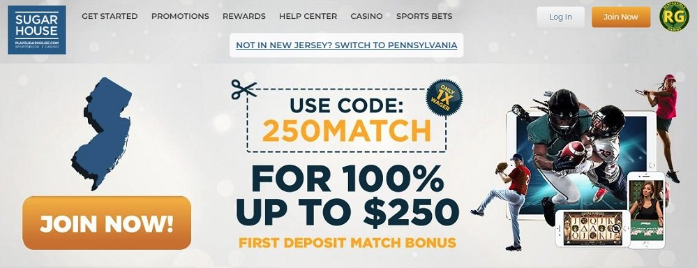 Sugar House Sportsbook Review Bonus Code