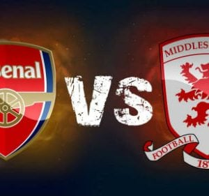 Middlesbrough vs Arsenal