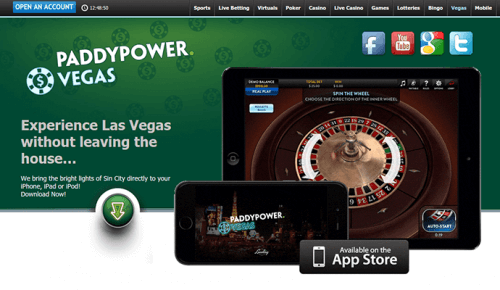 paddy power responsive ie