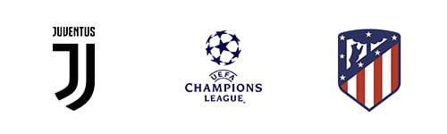 Champions League Round 16 Leg 2/2 Juventus vs Atlético Madrid