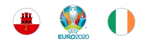 Euro 2020 Gibraltar vs Republic of Ireland