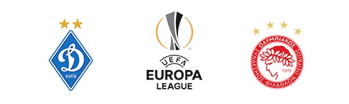 Europa League Dynamo Kyiv vs Olympiacos
