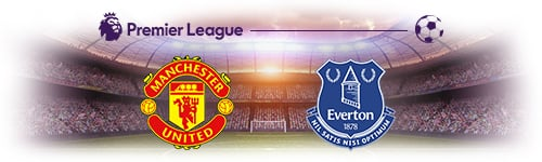 Premier League Man Utd vs Everton